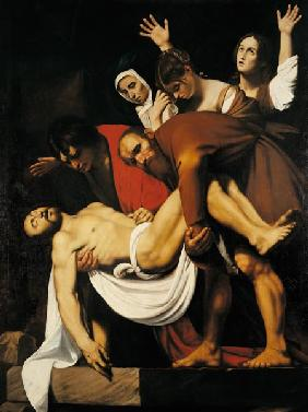 Caravaggio Copy /Entombment of Christ