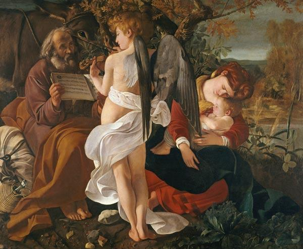 Rest on the Flight into Egypt 1595
