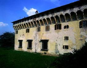 Villa Medicea di Cafaggiolo, begun 1451 (photo)