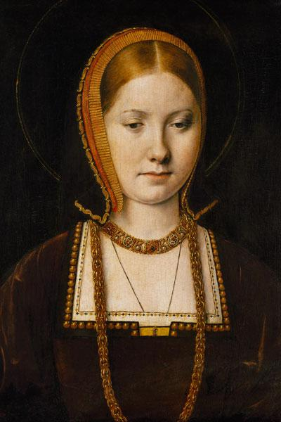 Portrait of a woman, possibly Catherine of Aragon (1485-1536)