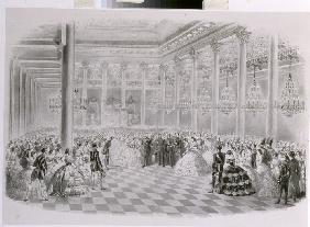 Ball in the Hall of the Russian Assembly of Nobility on the occasion of the coronation of Emperor Al