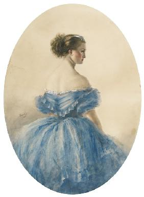 Portrait of Princess Anna zu Sayn-Wittgenstein
