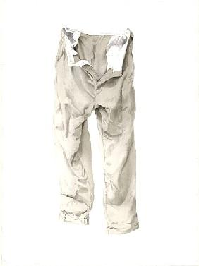 Shabby Trousers, 2003 (w/c on paper)