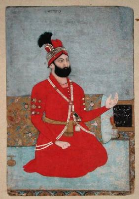 Portrait of Nadir Shah Afshar of Persia (1688-1747)
