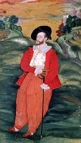 Portrait of a European sailor, c.1590
