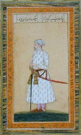 A Prince wearing a sword, from the Small Clive Album