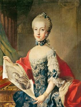 Archduchess Maria Carolina (1752-1814), thirteenth child of Maria Theresa of Austria (1717-80), wife