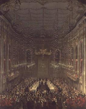 Banquet in the Redoutensaal, Vienna