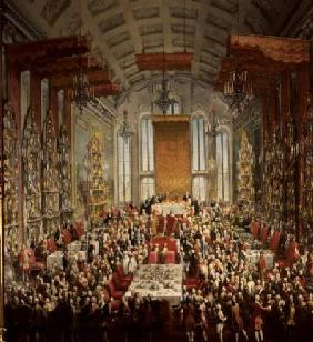 Coronation Banquet of Joseph II in Frankfurt