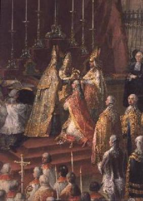 The Coronation of Joseph II (1741-90) as Emperor of Germany in Frankfurt Cathedral