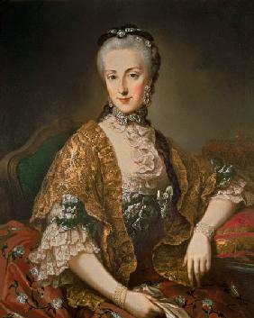 Archduchess Maria Anna Habsburg-Lothringen, called Marianne (1738-89) second child of Empress Maria
