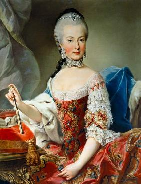 Archduchess Maria Amalia Habsburg-Lothringen, (1746-1804) eighth child of Empress Maria Theresa of A