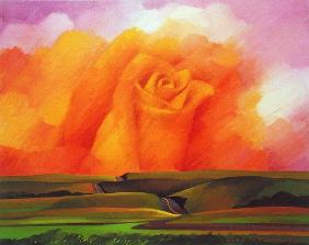 The Rose, 2001 (oil on canvas)
