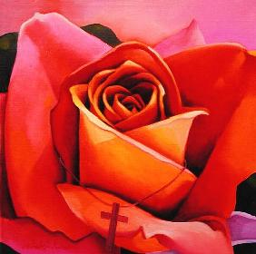 The Rose, 2002 (oil on canvas)