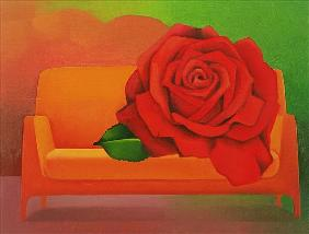 The Rose, 2004 (oil on canvas)