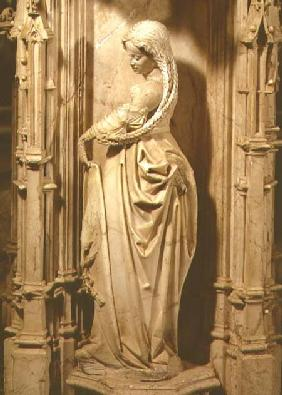 Wise virgin statuette from the tomb of Philibert the Fair (1480-1504) Duke of Savoy