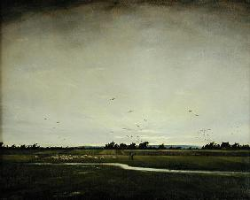 An English Landscape, Romney Marsh