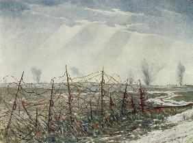 From a Front Line Trench, from British Artists at the Front, Continuation of The Western Front