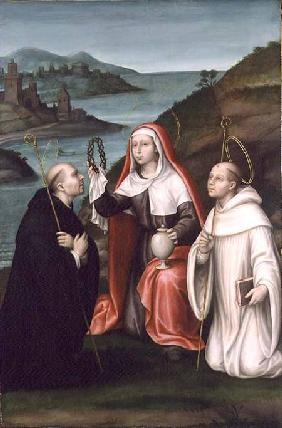 St. Mary Magdalene with St. Dominic and St. Bernard