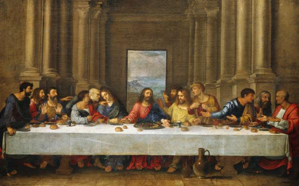 The last Holy Communion. Copy to Leonardo since Vinci.