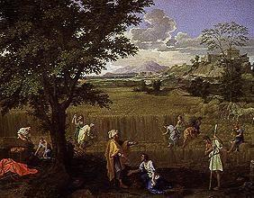 Poussin, Nicolas : The summer (or: Ruth and B...