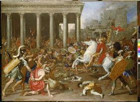 The destruction of the temple in Jerusalem by Titus