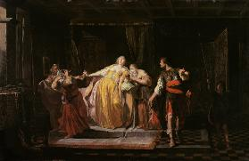 The death of the Sophonisbe
