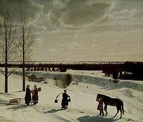 Kryloff, Nikifor Stepanow. : Russian winter
