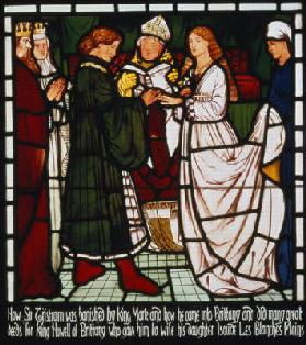 The Marriage of Tristan and Isolde of the Whit