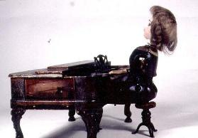 31:Piano Doll, 1874-80, by J.Secor