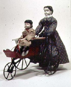 31:Walking doll with carriage