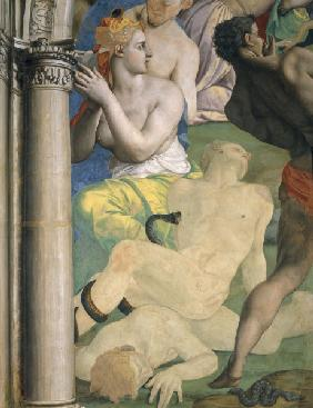 A.Bronzino, Brass Serpent, section