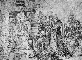 Adoration of the Kings / Dürer / 1524