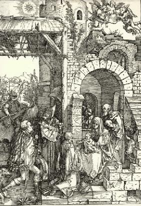 Adoration of the Kings / Dürer / c.1503