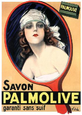 Advertisement for Palmolive soap by Emilio Vila