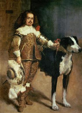 Portrait of one of Philip IV's dwarves.