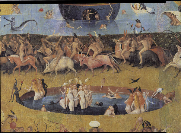 Bosch Garten Der Luste Ausschnitt Hieronymus Bosch As Art Print