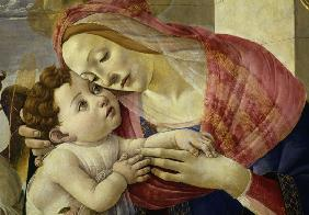 Botticelli Workshop / Madonna w.Angels
