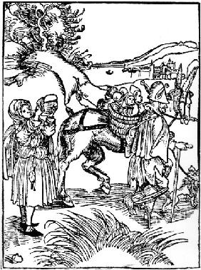 Brant / Ship of Fools / Woodcut / Dürer