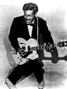 Charles Edward Anderson Berry aka Chuck Berry rock and roll guitarist