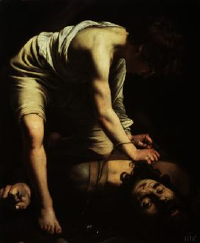 Caravaggio, David s triumph over Goliath