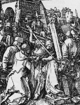 Carrying the Cross / Dürer / 1509