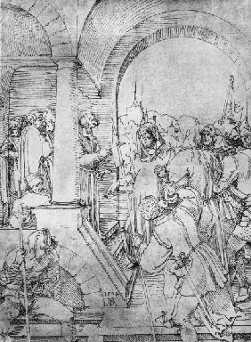 Christ before Pilate / Dürer / 1504