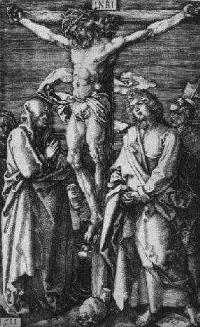 Christ on the Cross / Dürer / 1511