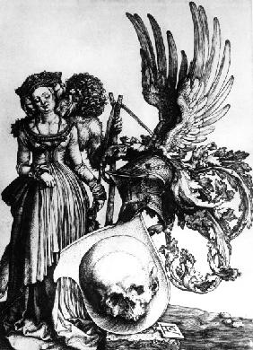 Coat of Arms with Death Head / Dürer