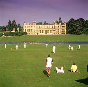 Cricket Match in the Grounds of Audley End, Near Saffron Walden