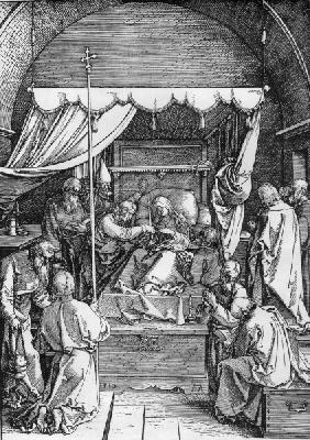 Dürer / Death of the Virgin / 1510
