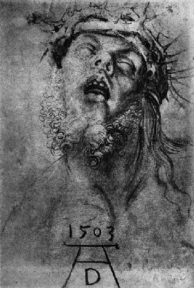 Dürer / Head of the dead Christ