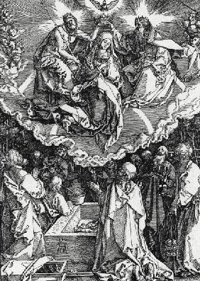 Dürer / Mary s Assumption / Woodcut
