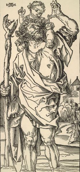 Dürer(?) / St. Christopher
